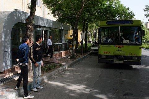 مناسبسازی ۲۱ ایستگاه اتوبوس در منطقه ۱۰