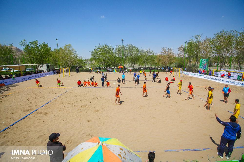 ایجاد مجموعه ورزشهای ساحلی در باغبادران