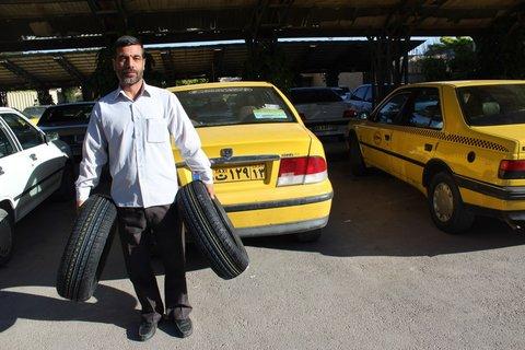 تخصیص عادلانه لاستیک به ناوگان شهری در ۲۱ استان کشور