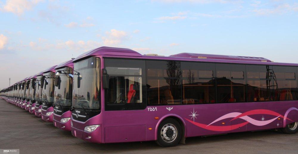 اطلاع رسانی درباره حرکت اتوبوسهای درون شهری همدان در کافه بازار