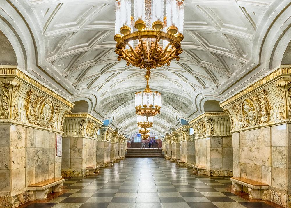 زیباترین ایستگاههای متروی جهان در کشور همسایه