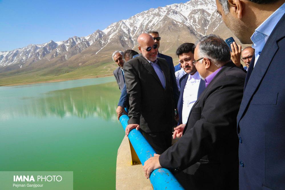 سفر استاندار اصفهان به شهرستان خوانسار