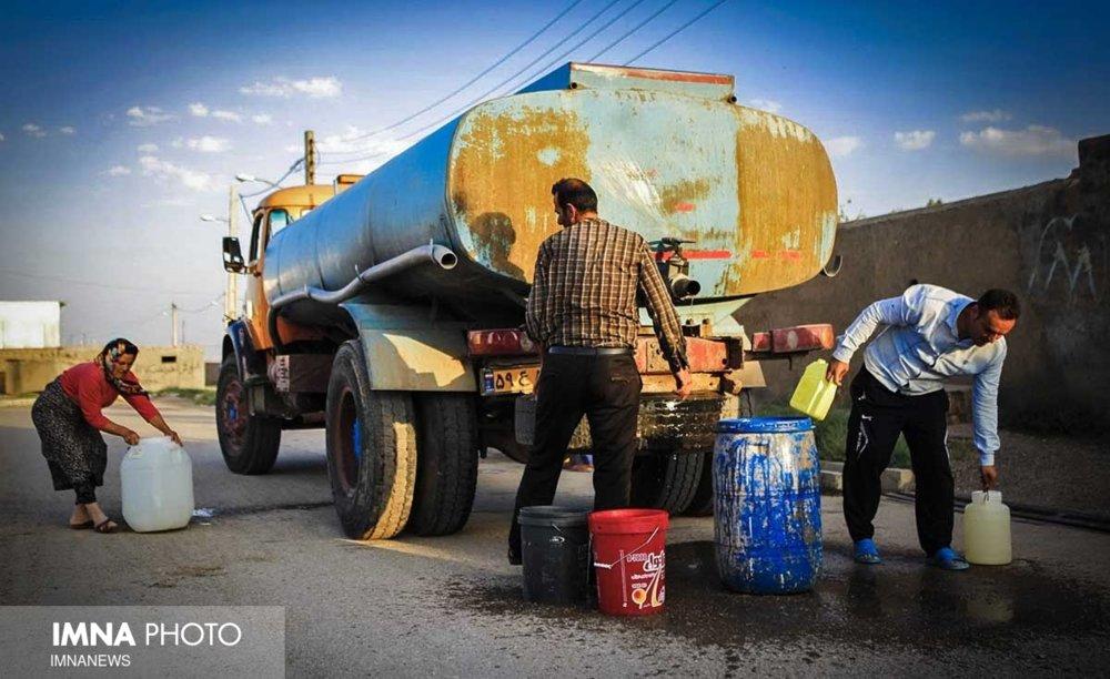 ۲ روستای شهرضا فاقد شبکه لولهکشی آب شرب