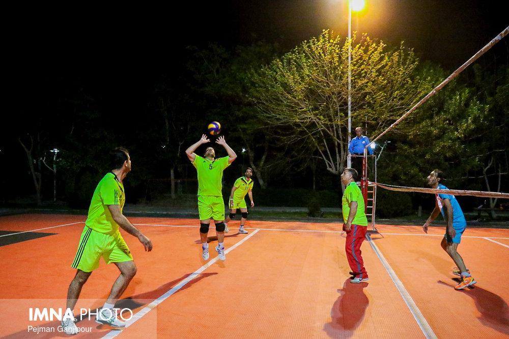 مسابقات جام رمضان ویژه کارکنان شهرداری اصفهان