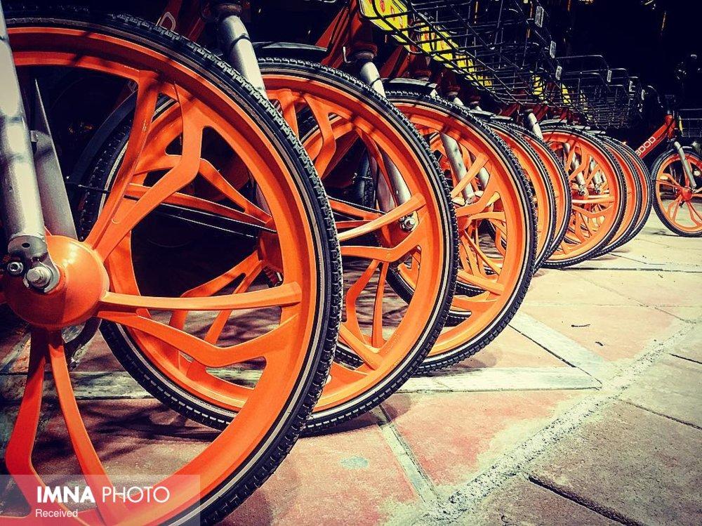 ۲۴ ساعته با دوچرخه های هوشند در شیراز