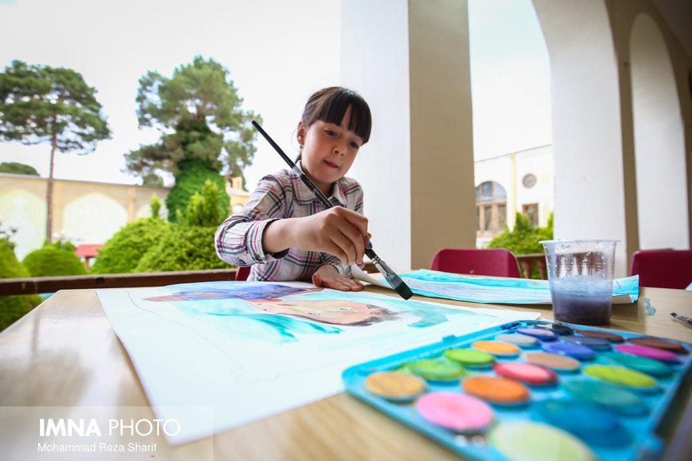 کودکان میهمان شهرداری کاشان