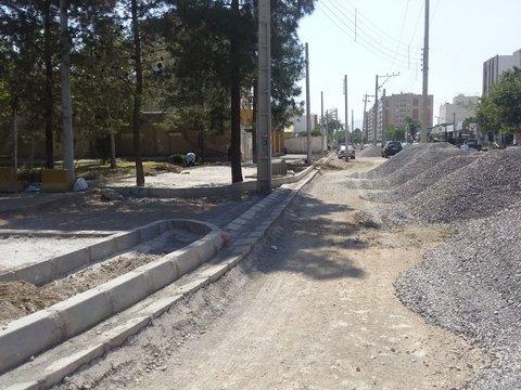 احداث یک خیابان و اجرای چند پروژه مشارکتی در منطقه ۱۱
