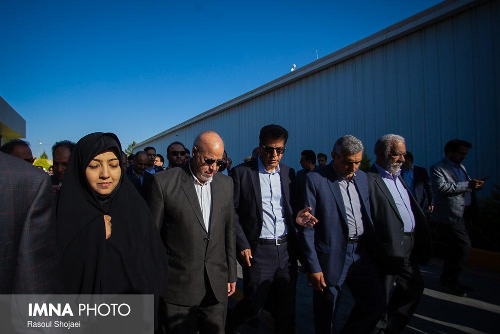 بازدید استاندار اصفهان از شهرک صنعتی مبارکه