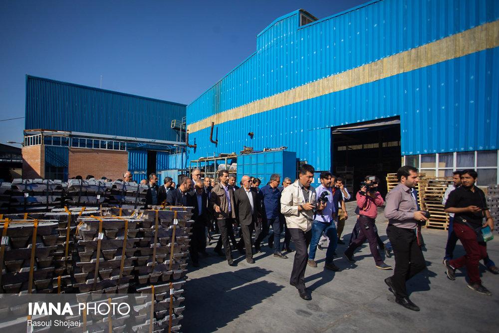 فقط ۹۰ واحد از شهرک صنعتی بزرگ اصفهان فعال است