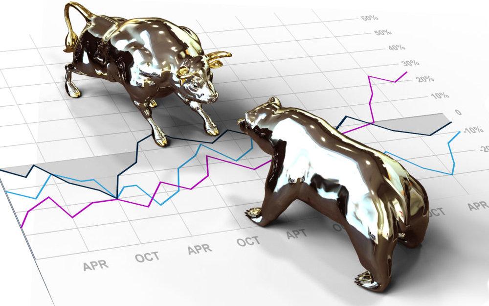 تقابل خرسها و گاوهای بازار سرمایه؛ ۳ درصد به نفع گاوها
