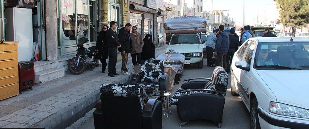 ساماندهی و بهره برداری اصناف از پیادهروها و فضاهای شهری مشهد