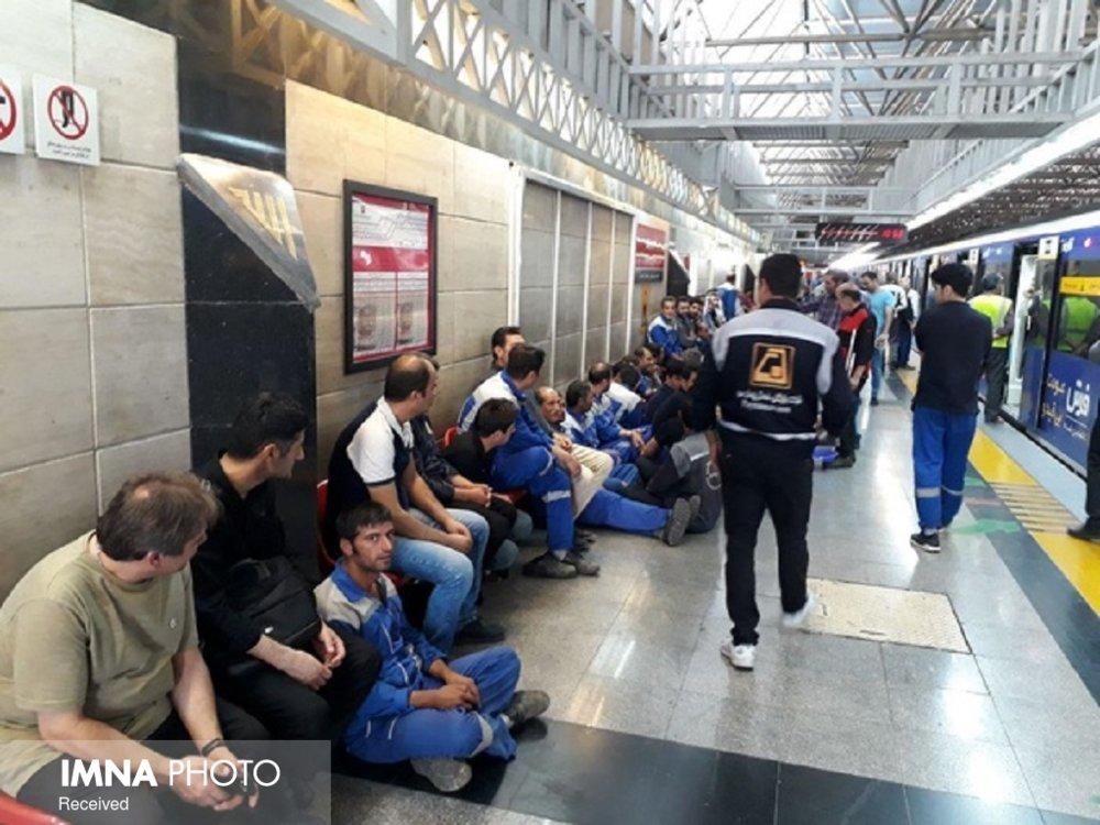 افزایش یک ساعته سرویسدهی مترو در روز جمعه