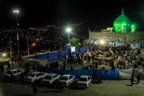 احیای شب بیست و یکم ماه رمضان در سمیرم