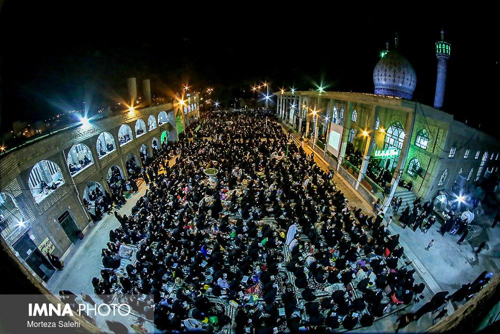 احیای شب بیست و سوم ماه رمضان در مبارکه