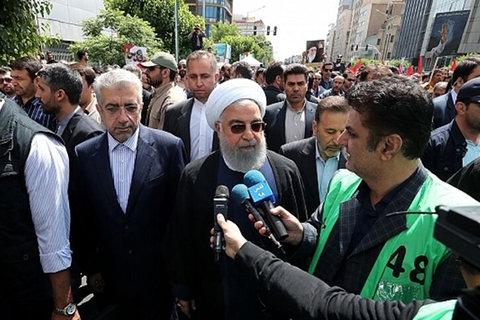 توطئههای استکبار علیه قدس شریف و فلسطین به نتیجه نخواهد رسید