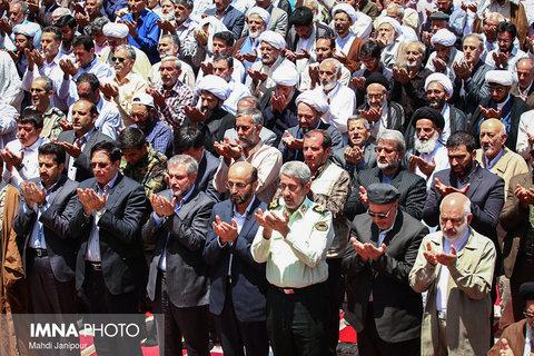نماز جمعه اصفهان در روز جهانی قدس