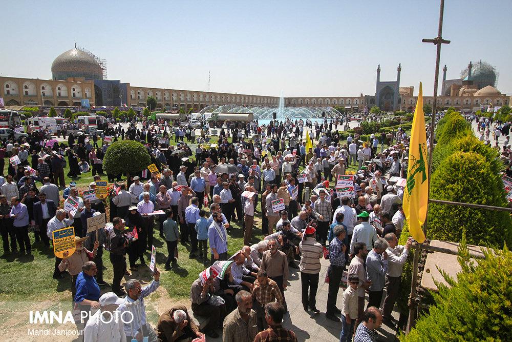 راهپیمایی روز جهانی قدس در اصفهان(۴)