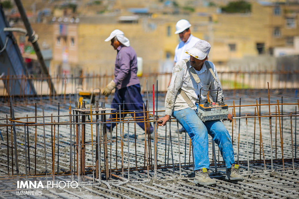 پیشرفت ۱۵ درصدی پروژه نصف جهان