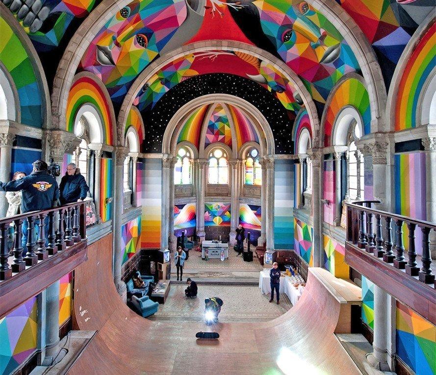 تبدیل کلیساهای قدیمی به فضاهای عمومی