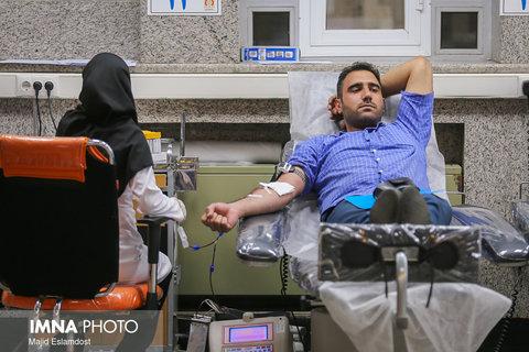 ۷۱ هزار اصفهانی خون اهدا کردند