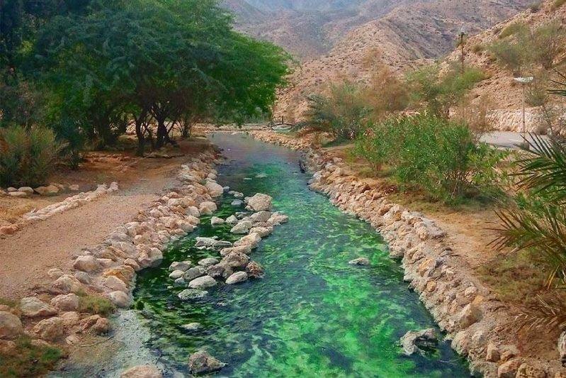 Genoo thermal spring