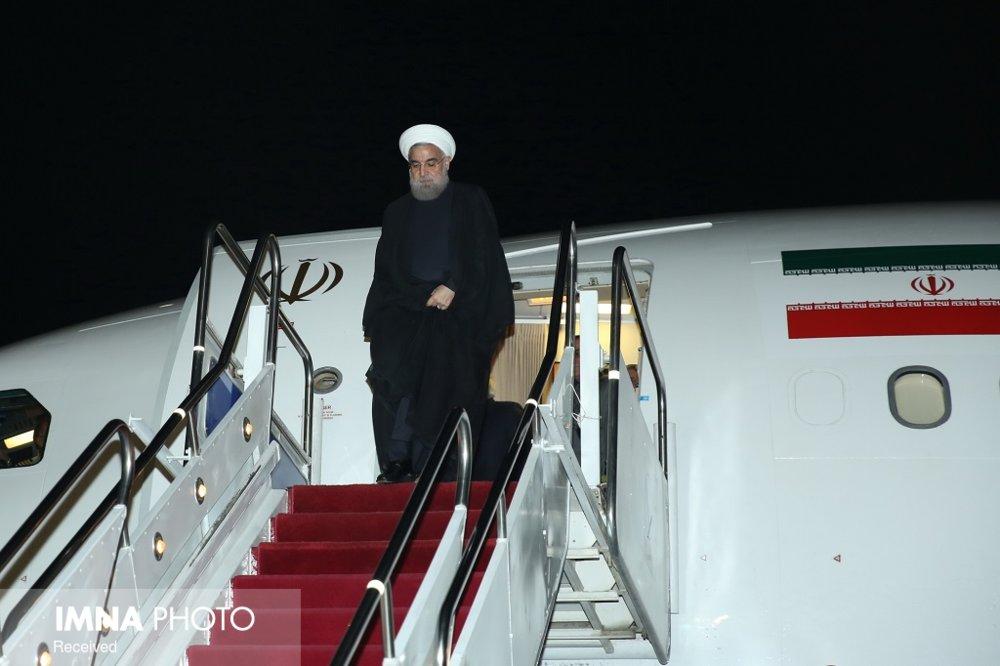 دکتر روحانی کوالالامپور را به مقصد توکیو ترک کرد
