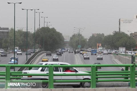 امروز هوای اصفهان ناسالم است