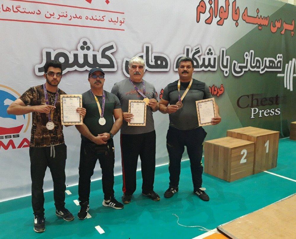 ۴ قهرمانی، رهآورد ورزشکاران برخوار از مسابقات کشوری