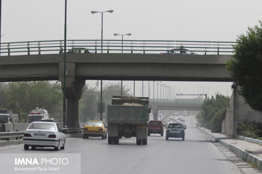 امروز هوای اصفهان بر مدار نارنجی و ناسالم است