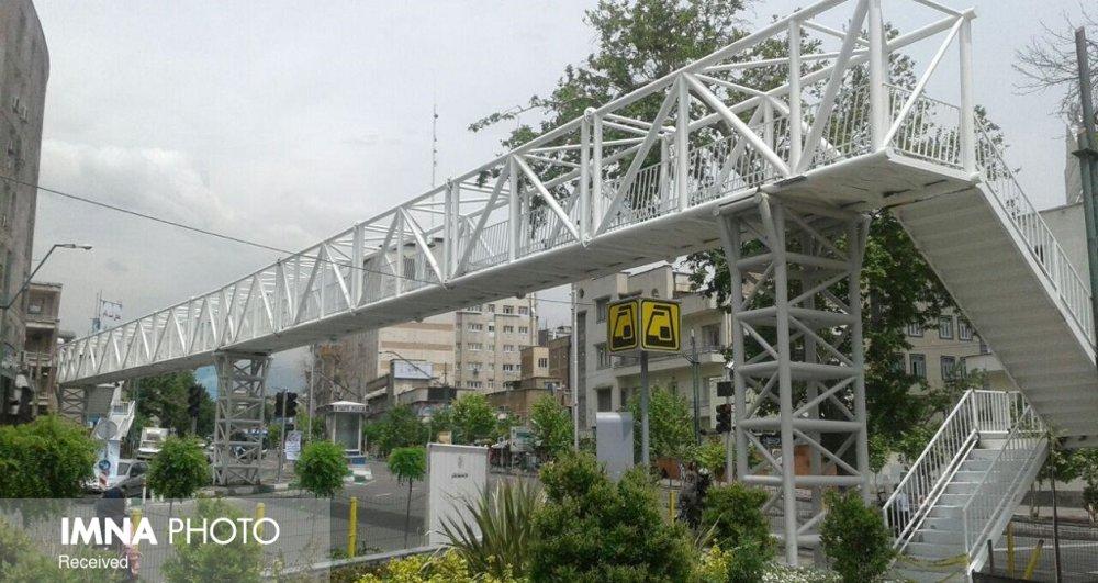 پلهای عابر پیاده غیرمکانیزه به رمپ عبور دوچرخه مجهز میشود