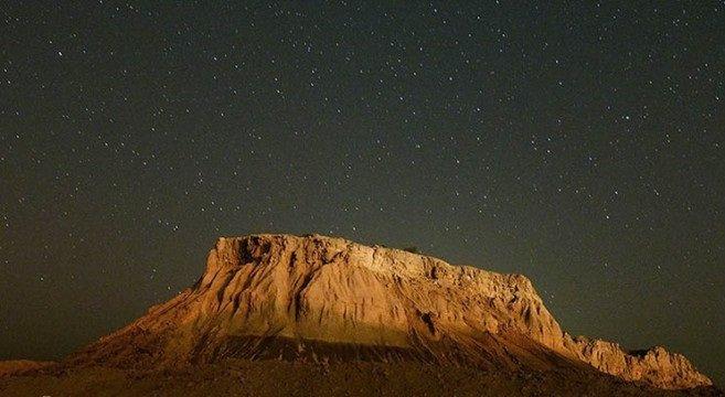 Stars valley in Qeshm Island