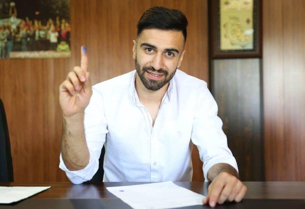گل اول استقلال به سایپا توسط ارسلان مطهری+ فیلم