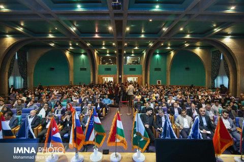 آیین افتتاحیه یازدهمین نمایشگاه بین المللی گردشگری اصفهان