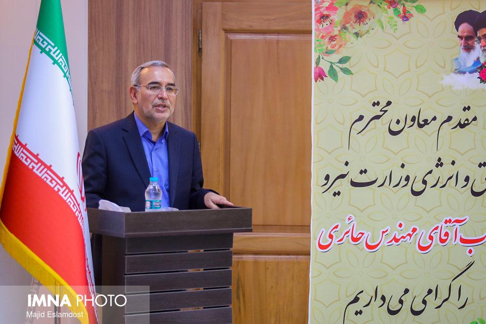 پروژههای توزیع برق استان اصفهان به بهره برداری رسید