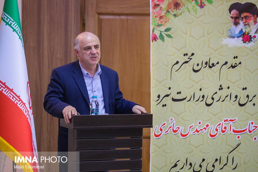اقدامات توزیع برق اصفهان باید به کل کشور تسری یابد