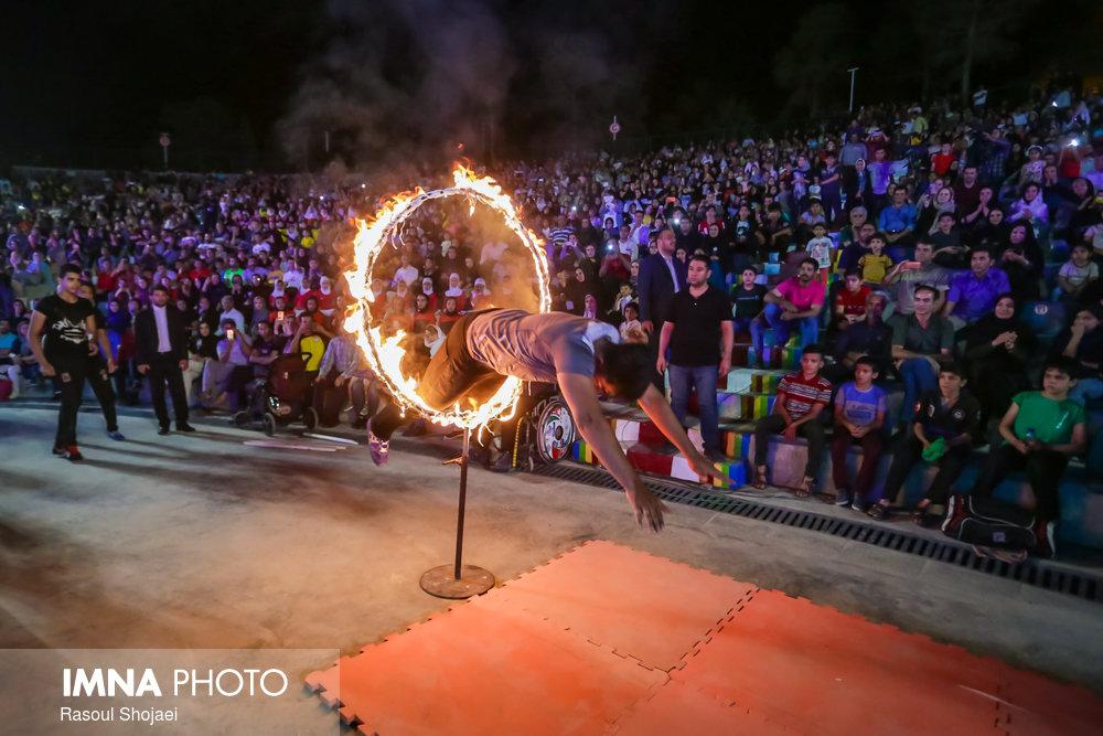اختتامیه چهارمین دوره جشنواره ورزشی زاینده رود