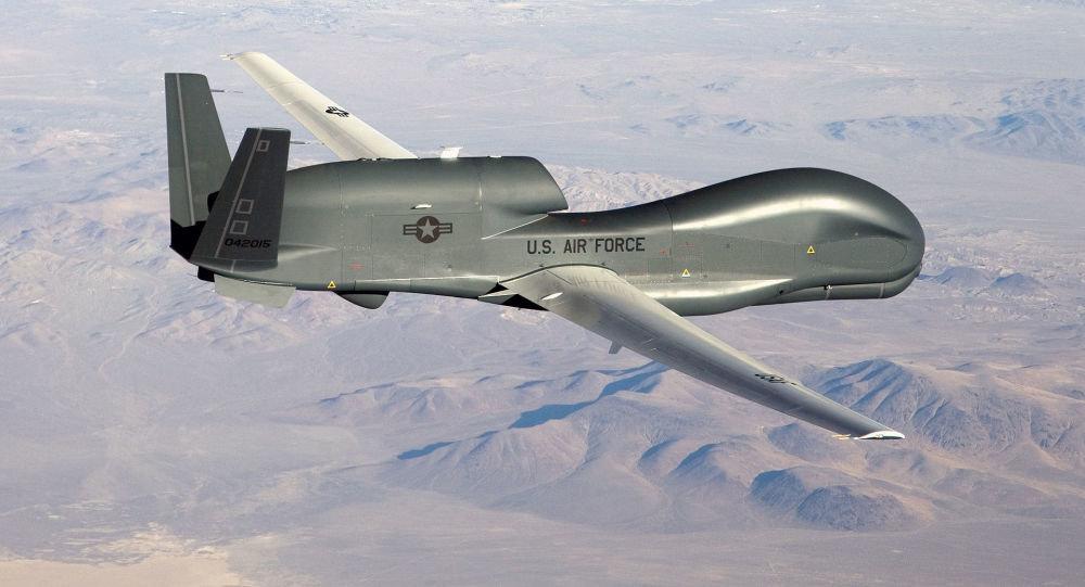 سقوط پهپاد جاسوسی آمریکا در شمال سوریه
