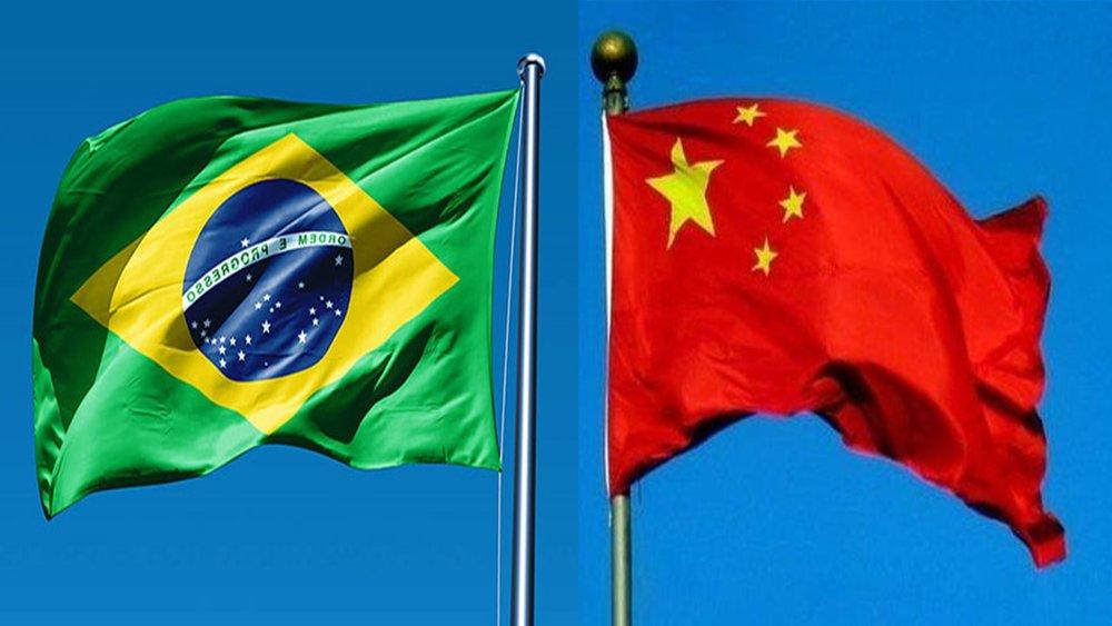 نخستین دیدار روسای جمهور چین و برزیل