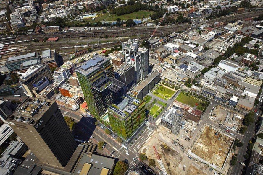 بلندترین باغ عمودی جهان در سیدنی