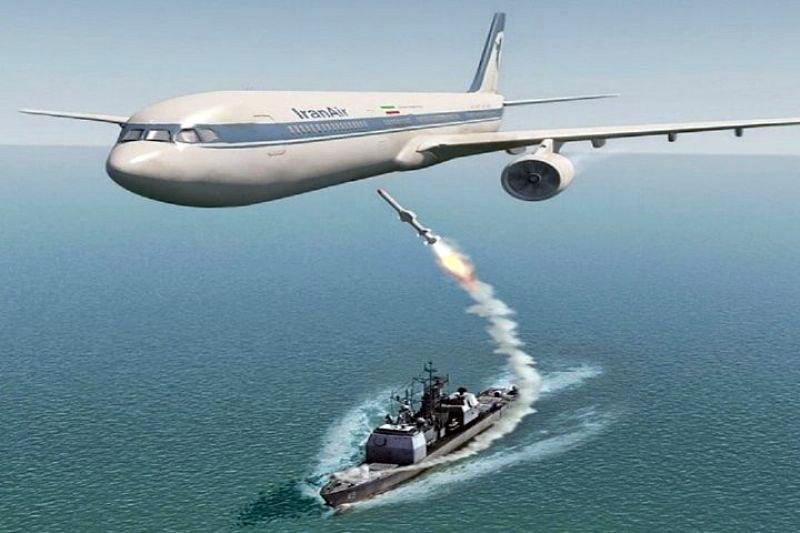 دعوای زیباکلام و ده نمکی درباره سقوط هواپیمای ایرباس