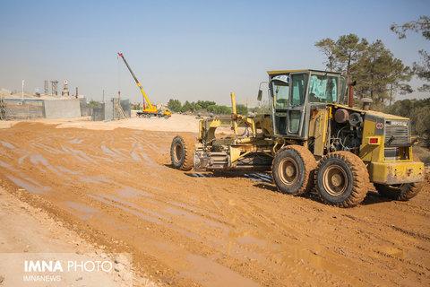 آغاز عملیات خاکبرداری پروژه مشارکتی تجاری مسکونی رودکی