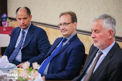 دیدارهیات مجارستانی با شهردار اصفهان