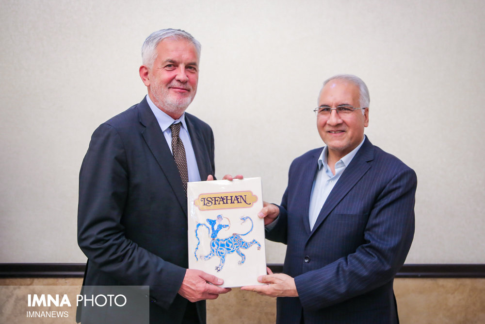 Isfahan, Pécs deepen ties between Iran ,Hungary