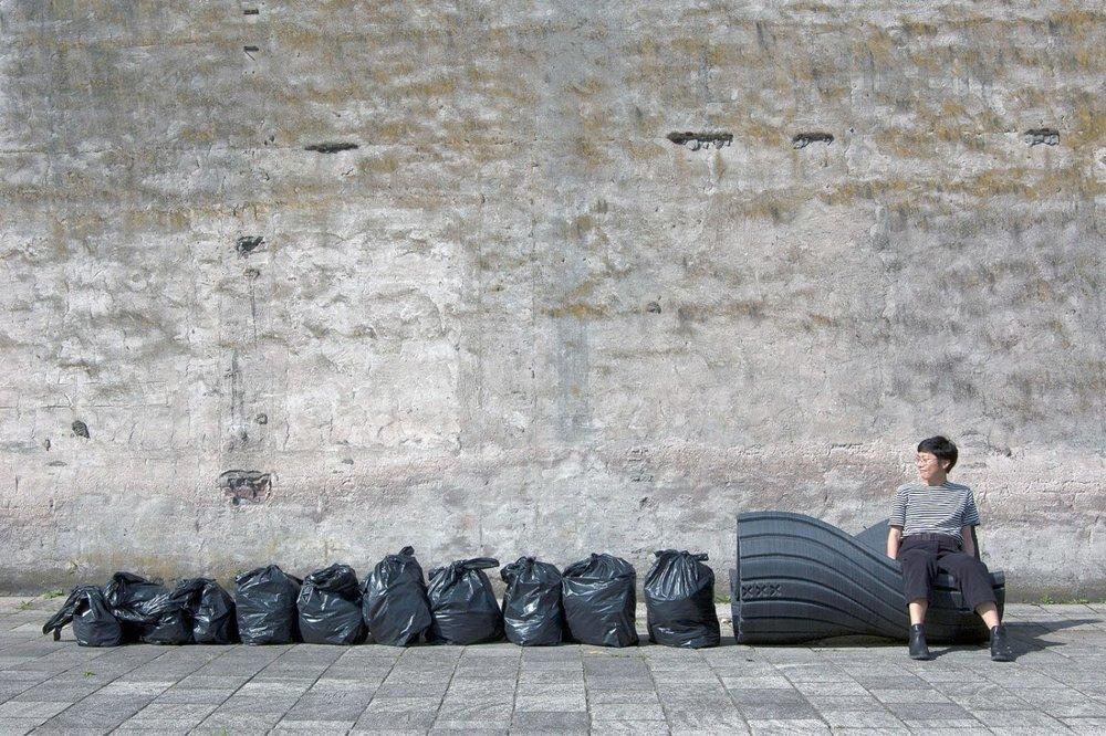 ضایعات پلاستیکی به مبلمان شهری تبدیل میشود