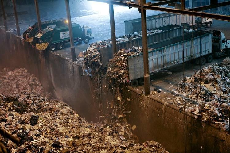 پیشرفت ۷۰ درصدی پروژه لندفیل قائم شهر