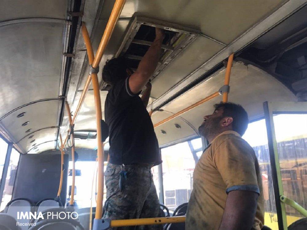 اجرای طرح سیستم گرمایشی ناوگان اتوبوس شهری ارومیه