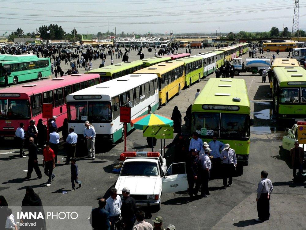 افزایش آمار مسافران اتوبوس در شهر اصفهان