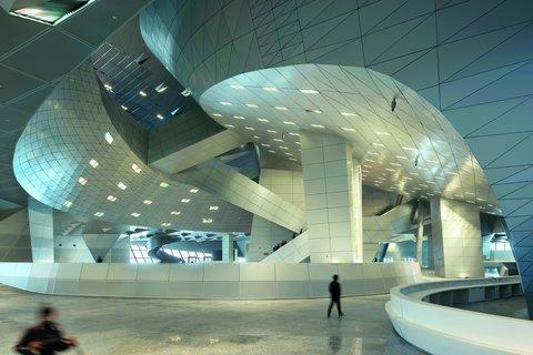 شاهکار معماری در سالن همایشهای بینالمللی دالیان
