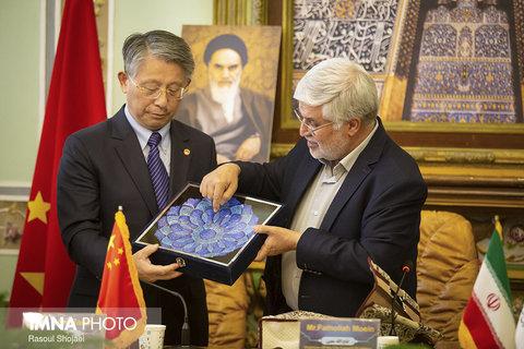 نشست مشترک شورای شهر اصفهان و کنگره شهرداری شانگهای چین
