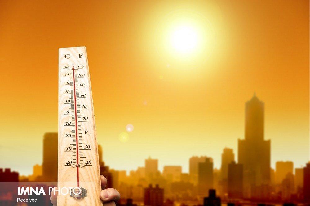 وقوع گرد و خاک محلی و افزایش دمای هوا در استان اصفهان